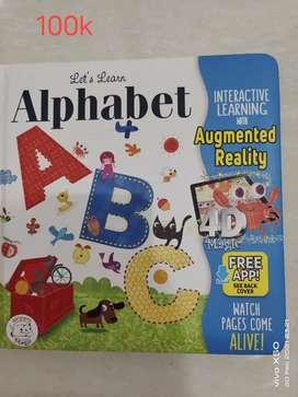 Buku import 4D Augmented Reality