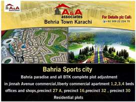 Bahria Town Karachi liberty commercial two bed Apartment