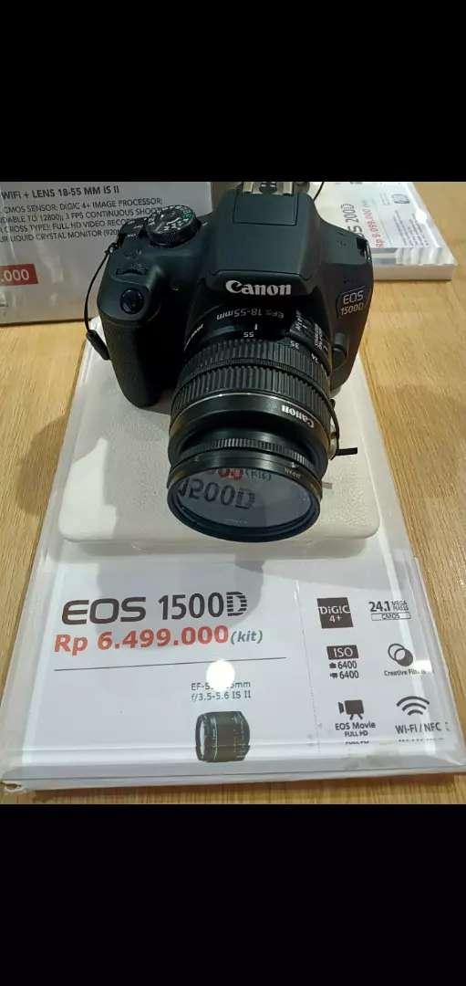 Kamera DSLR Eos 1500D cicilan DihomeCredit 0