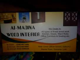 Carpenter required for al-madina wood interiors