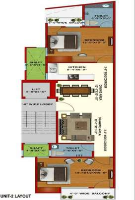 READY TO MOVE 2 BHK IN SECTOR 7 EXTENSION ROAD..