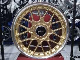 Velg Mobil HSR Wheel FORMULA Ring 17 Untuk Avanza Veloz Agya Jazz dll