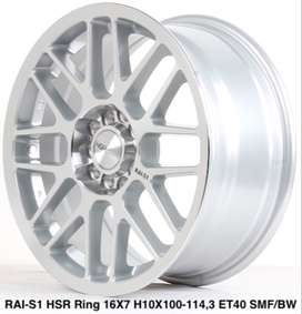 new RAI-S1 HSR R16X7 H10X100-114,3 ET40 SMF