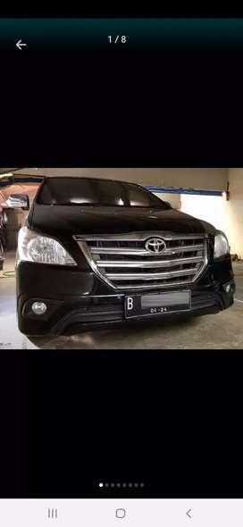 Toyota inova G 2.0 2014 manual kredit Dp ringan