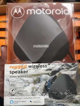 Motorola bluetooth speaker sonic boost 230 available at best price
