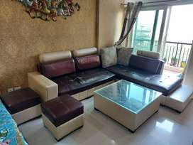 L shape Sofa with Centre table