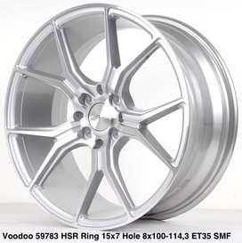 wheel VOODOO 59783 HSR R15X7 H8X100-114,3 ET35 SMF