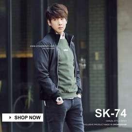 Jaket Pria, Jaket Pria Korean Style, Jaket Pria Big Size, Manzoneid