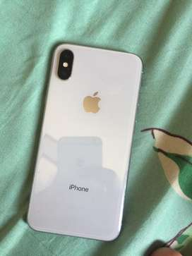 Iphone x 256 GB with fast charger worth 5000/-