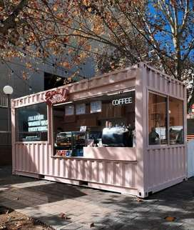 Booth custom booth Container booth Coffeshop container foodbar