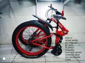 Mountain bike ferrari foldable