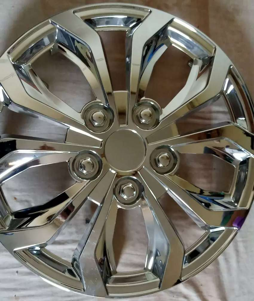Wheel cover silver colour 0