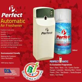 Automatic Room Air Freshener with 300Ml Refill Bottle.