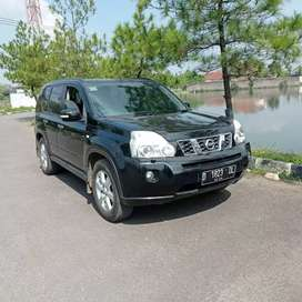 NISSAN X-TRAIL ST A/T 2010 BLACK