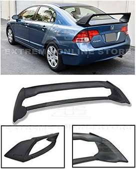 Honda mugen spoiler and also universal can fit on any sedan
