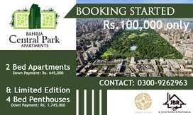 New Deal 2Bed with Discount On Easy Installments Bahria Town Karachi