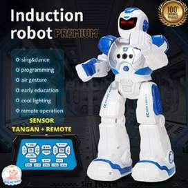 Super Canggih! Mainan Robot Remote dan Sensor Tangan Premium Keren
