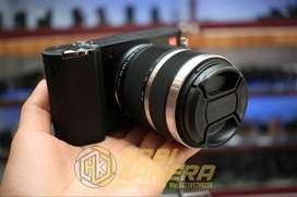 Kamera mirrorless Xiaomi Yi Lensa 12-40mm Fullset Smartcamera