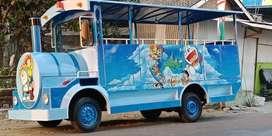 odong odong kereta mini wisata mesin kijang free desain