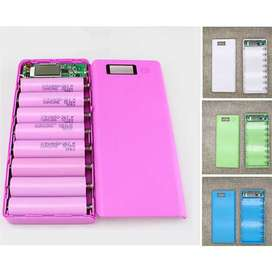 *Casing #PowerBank Daya REAL / charger 18650 *Fitur => Safety Circuit