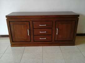 Meja tv cabinet finishing jepara o2