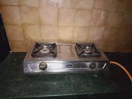 Gas stove 2 burner