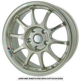 AMW SSR R16x7.0 PCD 5x114,3 hrv  brv crv alphard
