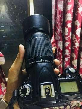 Nikon d90 ..70-300mm lens