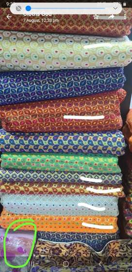 Ganpati Bappa Decoration Fabric