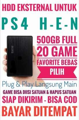 HDD 500GB FULL 20Game Terlaris PS4 Murah Mantap Terjangkau Bebas Pilih
