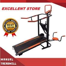 jual treadmill 5 fungsi // sepeda statis // treadmill manual electrik