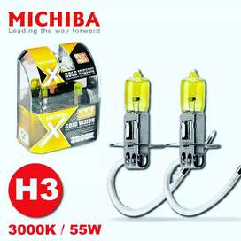 Foglamp Light Halogen Michiba H3 Gold Vision