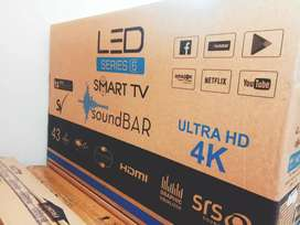 "32"" SMART LED TV 4K UHD DISPLAY AT ONLY 8499 , ALL SIZE AVIALABLE"