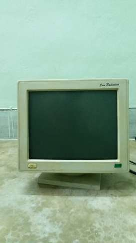 "Microtek 14""Mono Monitor Rs.900/-"