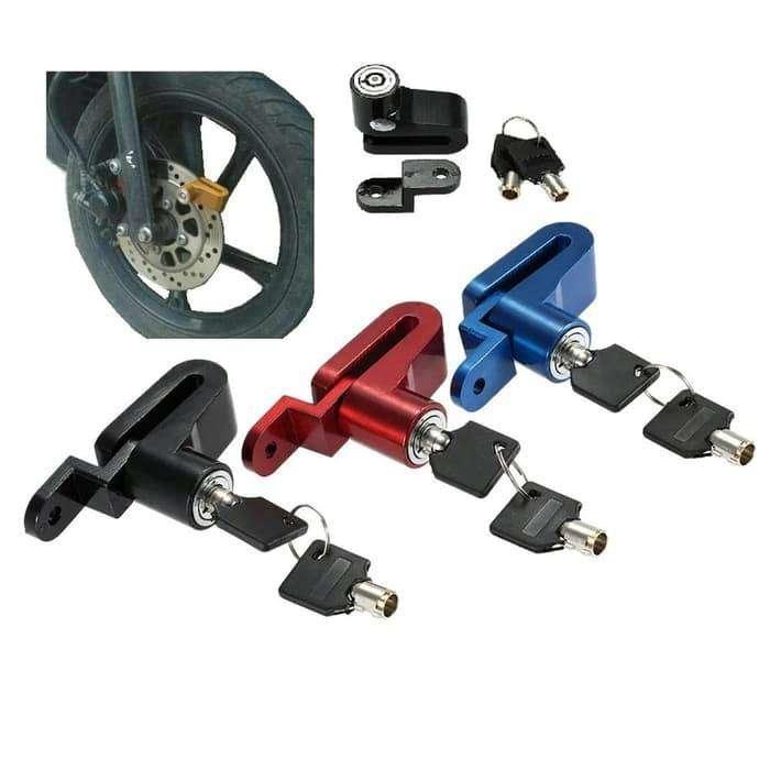 Gemb0k Cakram Sepeda Disc Brake Lock Baja Kunci Anti Maling Motor 0