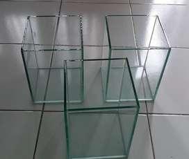 3 buah Soliter/Aquarium T20xL15xP15