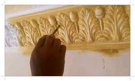 [ Relief Dinding - Ornamen 3D KUPANG ] Ahli Pembuatan Desain Relief Re