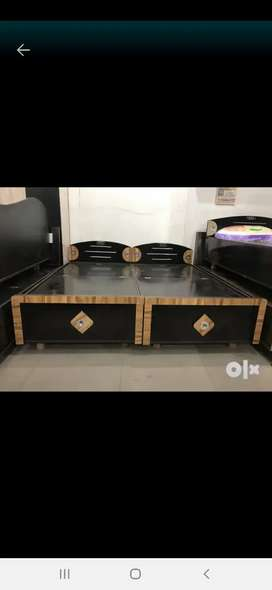Shri balaji furniture hole sale rate pr available  double bed 5800 rs