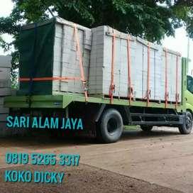 Dijual bahan pembangunan rumah bata hebel bata ringan semen mortar