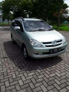 Toyota inova 2005 matic type G plat L sby