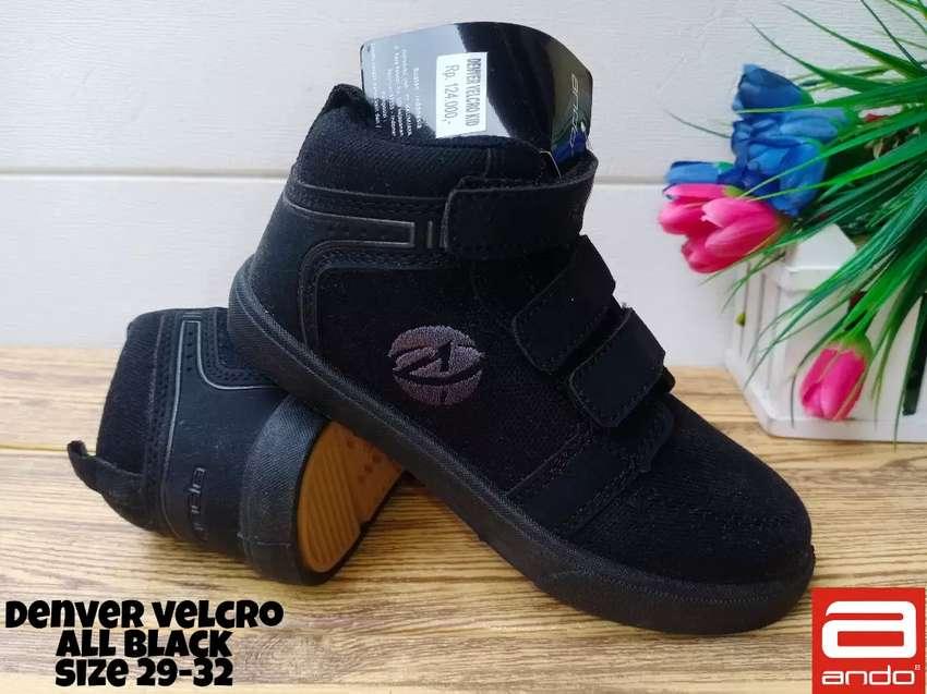 Sepatu sekolah anak PAUD, TK murah / obral sepatu sekolah ANDO murah 0