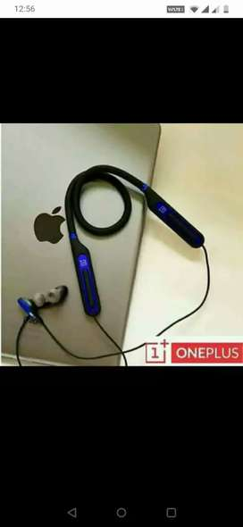 One plus Bullets wireless Bluetooth headphones