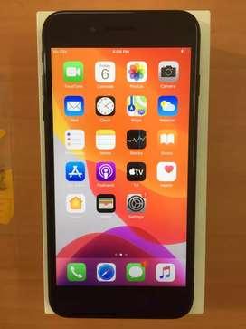 iPhone 7 plus black colour 128 GB sale