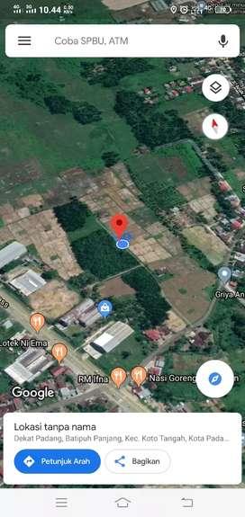Tanah di Anak Air, Koto Tangah(Padang)