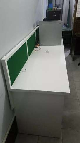 Cubicle workstation. Office furniture house furniture