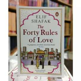 Forty Rules of Love Book