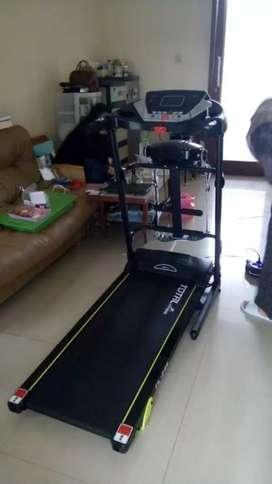 Treadmill elektrik total TL 246 3 fungsi alat fitness ZY265