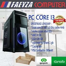 PC Rakitan Core i3/DDR 4GB Garansi 1 Tahun ANTI LEMOT