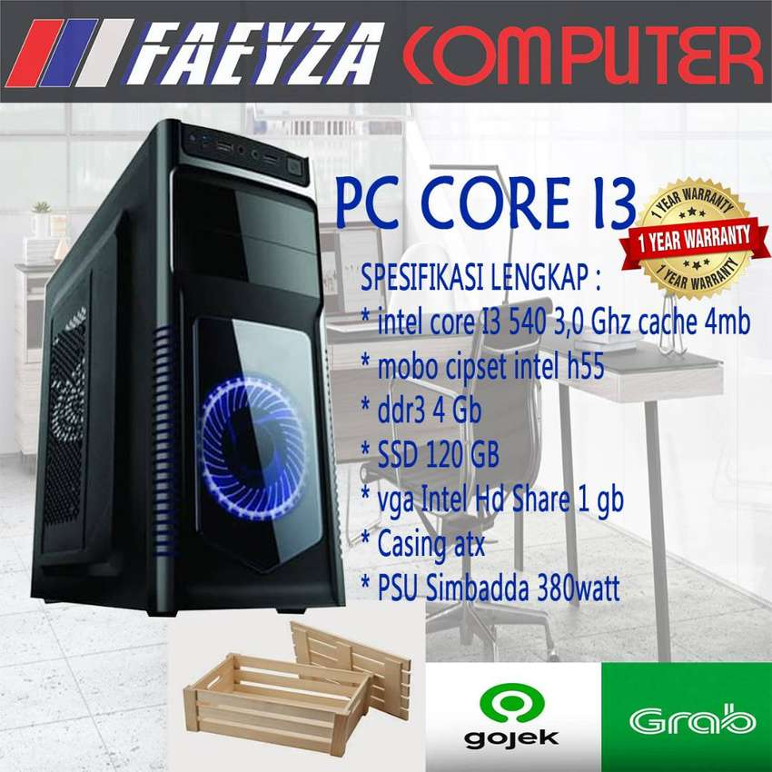PC Rakitan Core i3/DDR 4GB Garansi 1 Tahun ANTI LEMOT 0