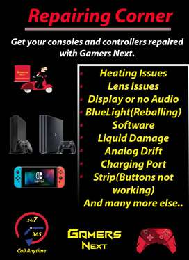 Ps4 , Playstation 4 , Xbox and other consoles repair and service